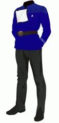 Uniform dress blue crewman apprentice