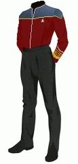 Uniform duty red admiral