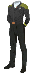 Uniform Jacket Gold