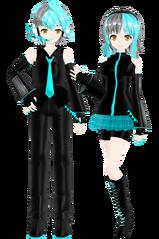 Cyan twins