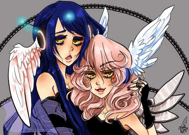 File:Karii-chan - Koko and Akari.png