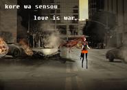 CHIKUkore wa sensou love is war