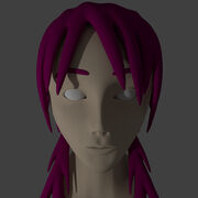 Eita Blender 3D Model Head