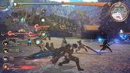 Valkyria Azure Revolution Battle