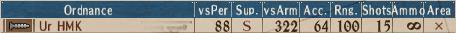Looted Heavy-MG I1 - Stats