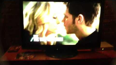 KLAROLINE KISS AUSTRALIAN PROMO THING!! TVD 5x11