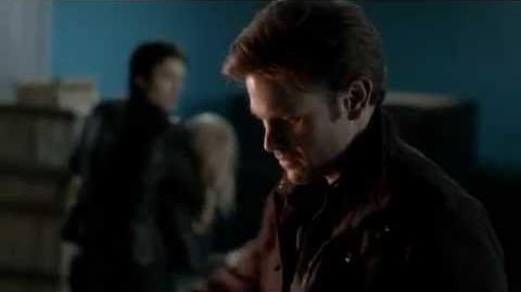 Vampire Diaries 3x22 The Departed - Alaric stakes Klaus in front of Damon & Rebekah