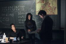 Bonnie, Shane and Damon