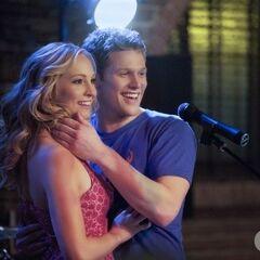 Matt with Caroline.