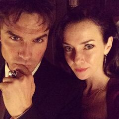 Ian Somerhalder, Annie Wersching September 4, 2015