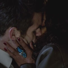 Celeste and Elijah Kiss