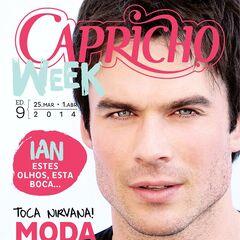 Capricho — Mar 25, 2014, Brazil, Ian Somerhalder