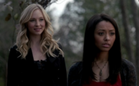 Caroline and Bonnie in 3x17