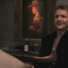 Balthazar (Roché) with Castiel (Misha Collins) during The Third Man (Supernatural)
