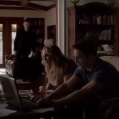 Klaus Caroline and Tyler