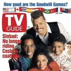 TV Guide — Jun 14, 1990, United States, Jasmine Guy