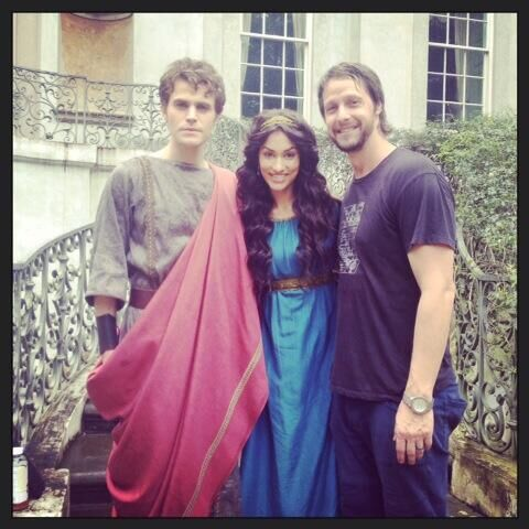 Jesse Warn, Paul and Janina BTS