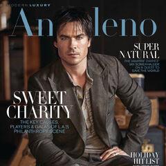 Modern Luxury Angeleno #164 — Nov 2018, United States, Ian Somerhalder