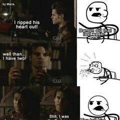 This just shows how much of a badass Damon is.
