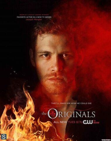File:The Originals - February 2014 Sweeps Poster - Klaus 595 slogo.jpg
