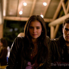 Nina and Paul behind the scenes