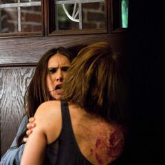 Rose attacking Elena