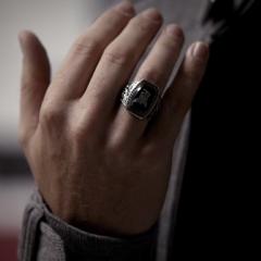 Alaric's ring.