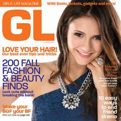 Girls' Life — Fall 2010, United States, Nina Dobrev