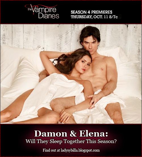 Image - Vampire-Diaries-Season-4-Will-Damon-Elena-Sleep ...  Vampire Diaries Elena And Damon Season 4