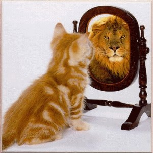 File:Lion mirror.jpg