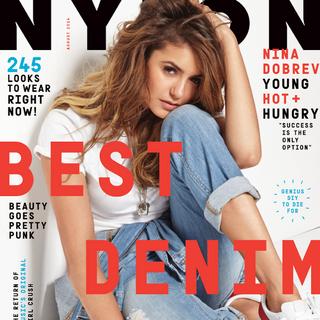 Nylon — Aug 2014, United States, Nina Dobrev
