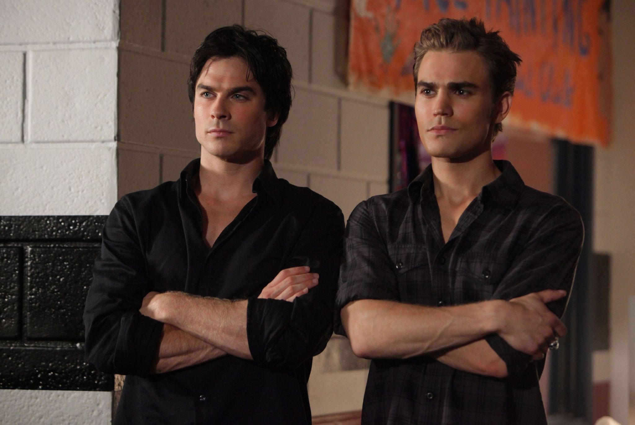 Damon And Stefan Salvatore Season 4 Full resolution