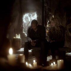 Rebekah and Marcel's conversation