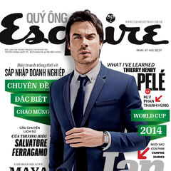 Esquire — Jun 2014, Vietnam, Ian Somerhalder