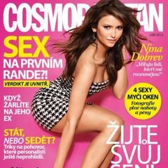 Cosmopolitan — Sep 2013, Czech Republic, Nina Dobrev