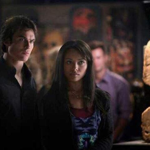 Bonnie and Damon in 4x06