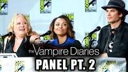 The Vampire Diaries Panel Part 2 - Comic-Con 2014