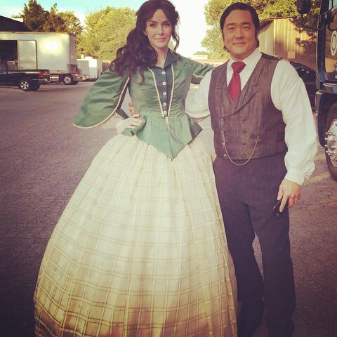 File:2015-10-28 Tim Kang Annie Wersching Instagram.jpg