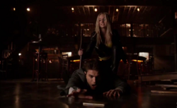 Stefan-Caroline fight- 6x16