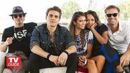 Vampire Diaries @ Comic-Con 2014! Nina Dobrev! Paul Wesley! Ian Somerhalder! Kat Graham!
