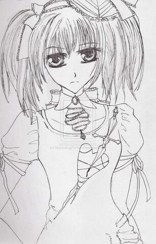 File:Vampire knight fanart line art by ManeatingPonies.jpg