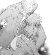 Каname hug Zero and Yuki