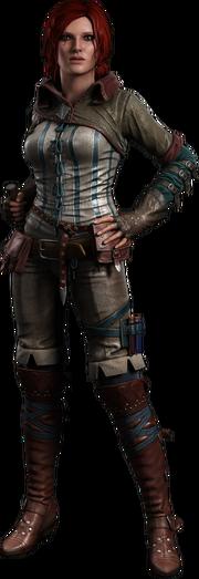 Трисс Меригольд (Основная внешность в Ведьмак 2)