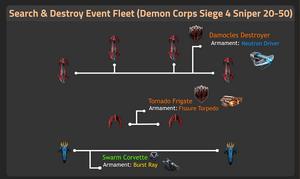 Demon Corps Siege 4 Sniper 20-50