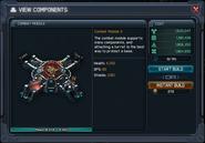 Combat module x