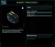 Binary thrusters 2