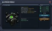 Zynthium miner upgrade panel