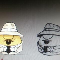 Concept art for Mr. Lunt as Professor Rattian in <i>