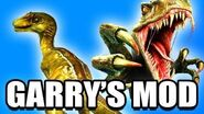 Gmod RAPTOR Dinosaur NPC Mod! (Garry's Mod)
