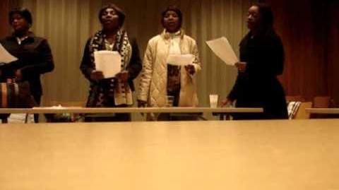 The Making-off Répétition de la Chorale Africaine de la Sainte Famille de Zürich